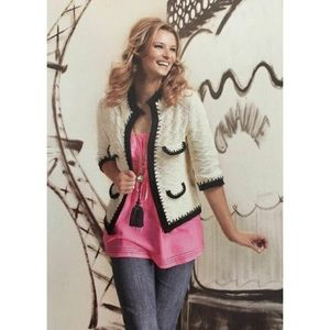 Cabi Socialite Cardigan Sweater 3/4 Sleeve #297